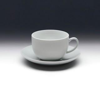 Чайная пара с круглым блюдцем «Collage» 200 мл